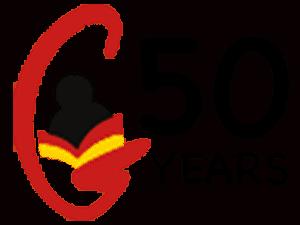sgls logo 50 years